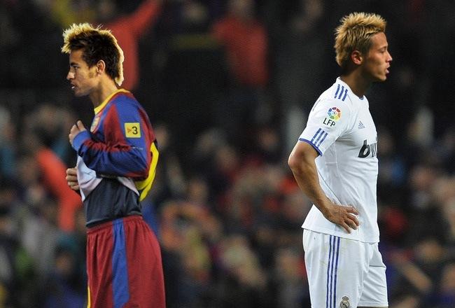 最新のヘアスタイル 本田の髪型 : 本田とネイマールは髪型のせい ...
